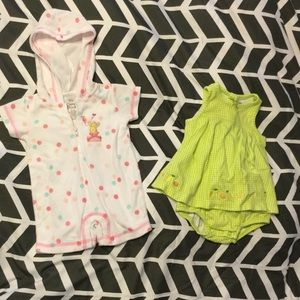 Like New Set of Two One-Piece Infant Outfits
